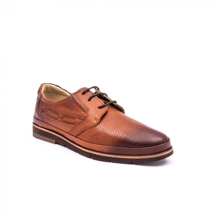 Pantof casual barbat 191536 coniac 0
