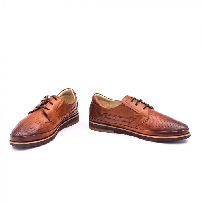 Pantof casual barbat 191536 coniac 3