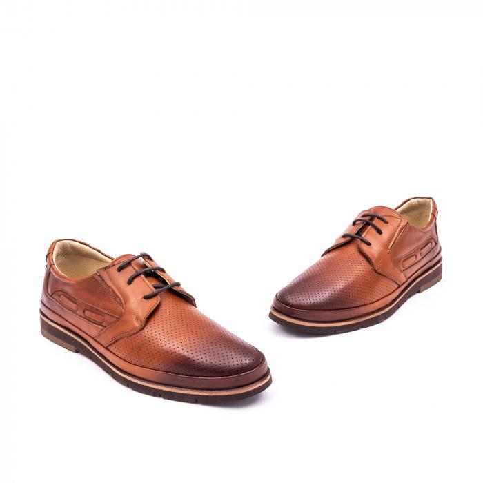 Pantof casual barbat 191536 coniac 1