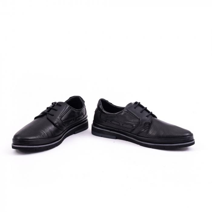 Pantof casual barbat 191536 negru 4