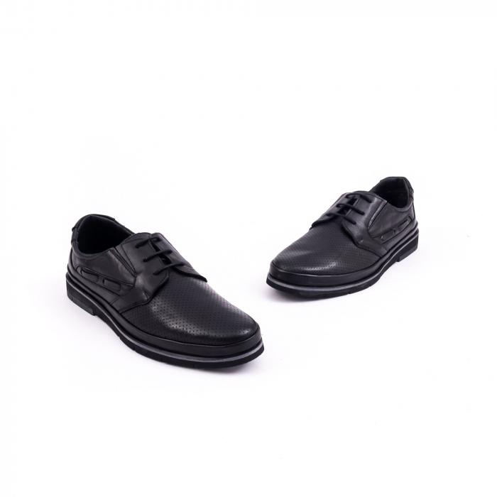 Pantof casual barbat 191536 negru 1