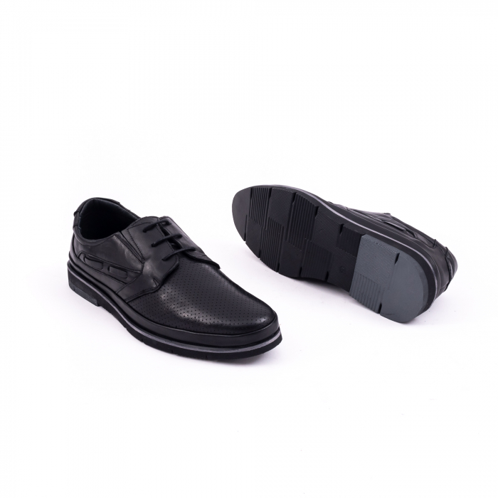 Pantof casual barbat 191536 negru 2