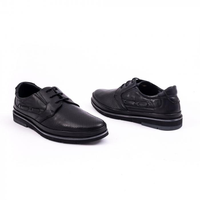 Pantof casual barbat 191536 negru 3