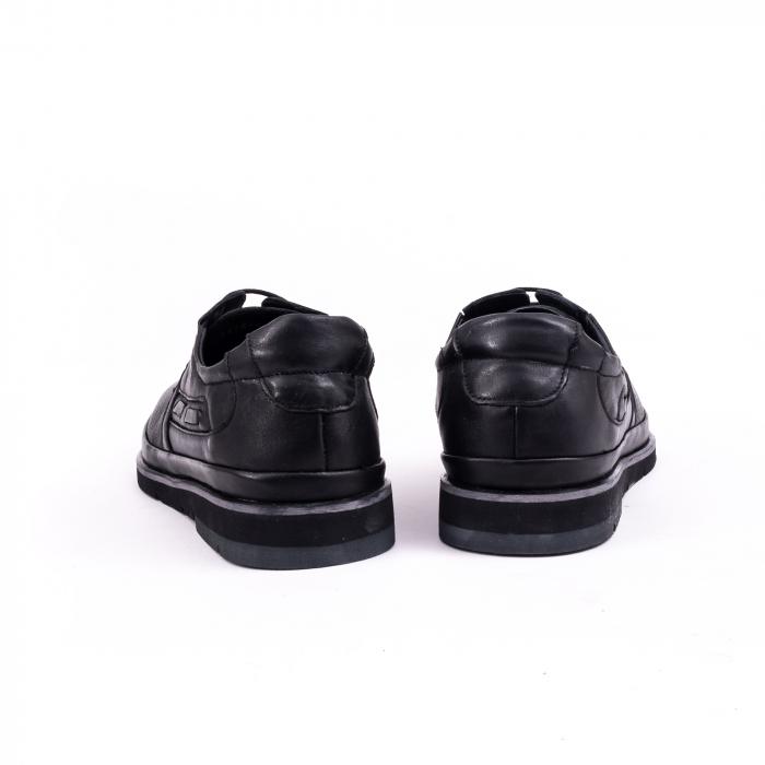 Pantof casual barbat 191536 negru 5