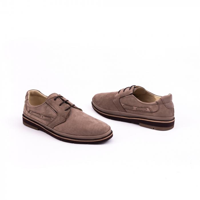 Pantof casual barbat 191536 vizon 3