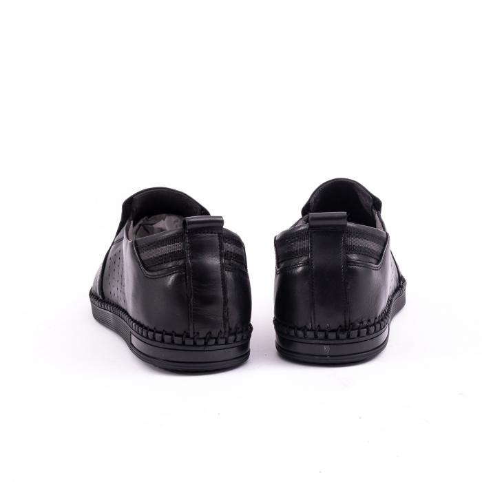 Pantof casual barbat 191543 negru 6