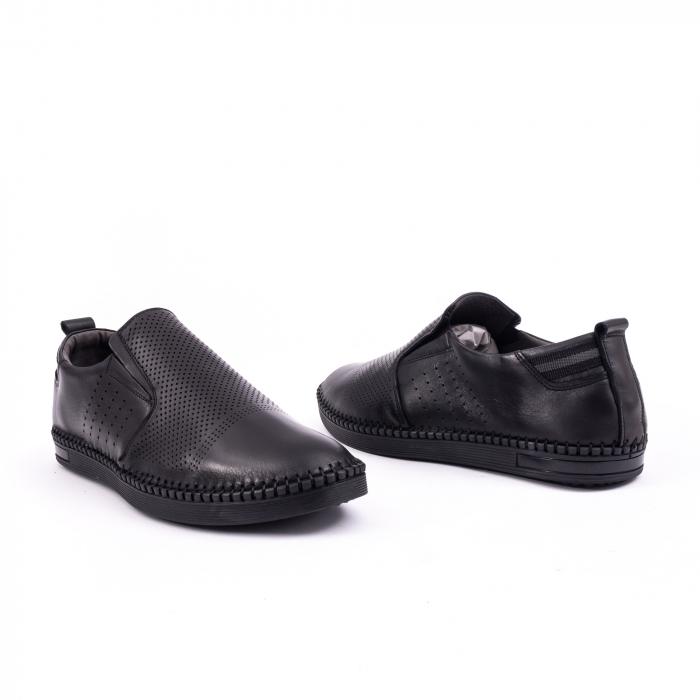 Pantof casual barbat 191543 negru 3