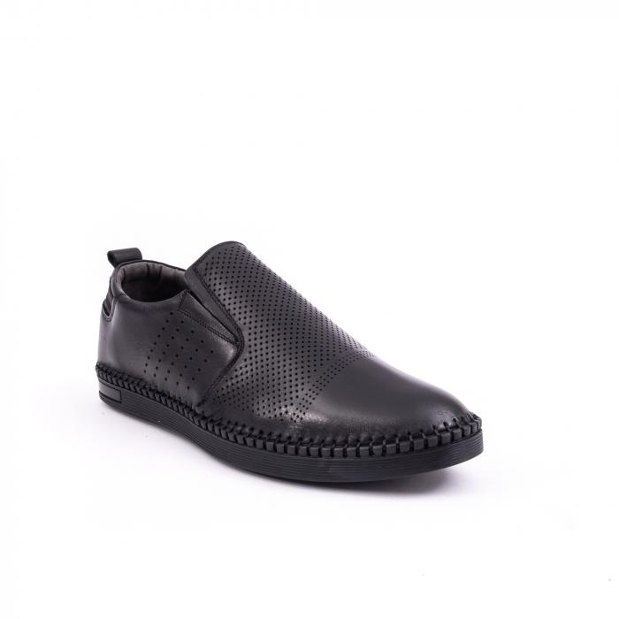 Pantof casual barbat 191543 negru 0