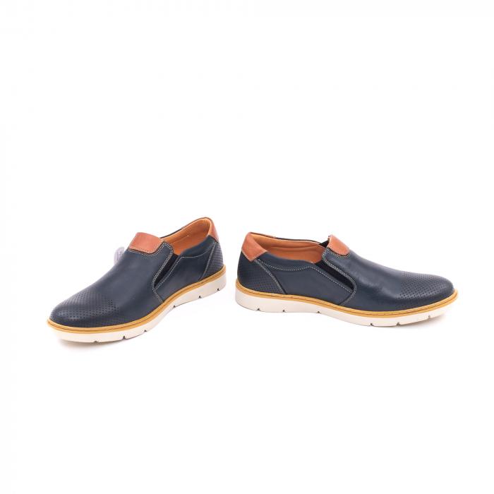 Pantof casual barbat 5916 bleumarin 4