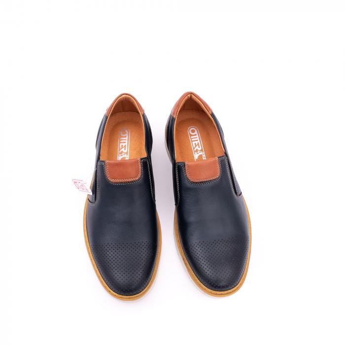 Pantof casual barbat 5916 bleumarin 5