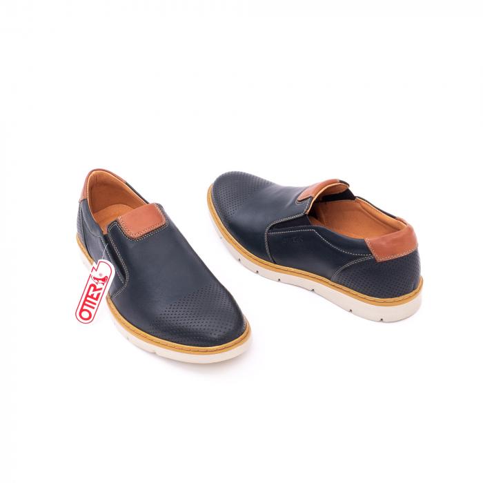 Pantof casual barbat 5916 bleumarin 3