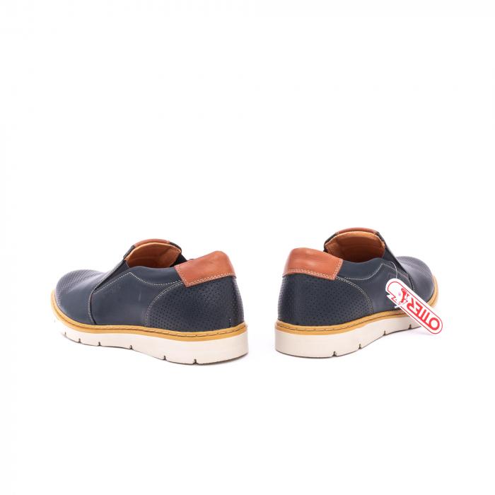 Pantof casual barbat 5916 bleumarin 6