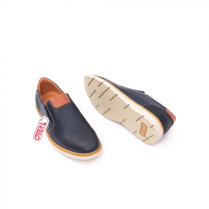 Pantof casual barbat 5916 bleumarin 2