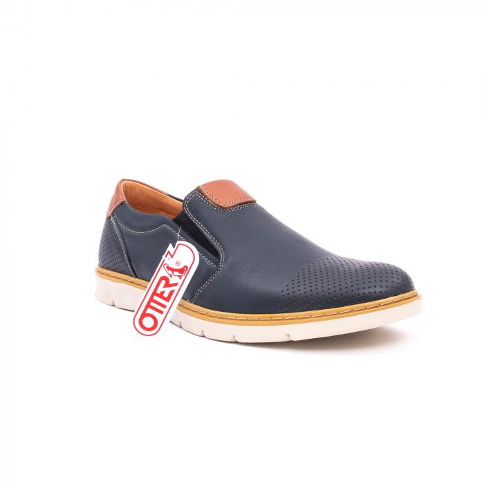 Pantof casual barbat 5916 bleumarin 0