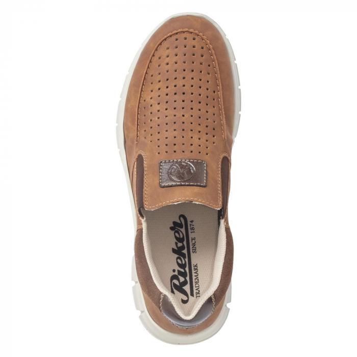 Pantofi casual din piele ecologica barbati B7766-24 1