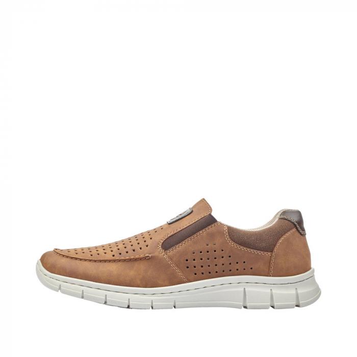 Pantofi casual din piele ecologica barbati B7766-24 5