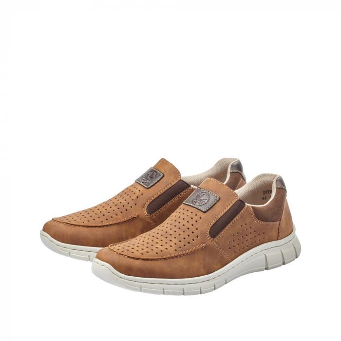 Pantofi casual din piele ecologica barbati B7766-24 2