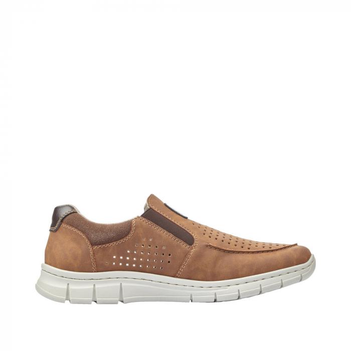 Pantofi casual din piele ecologica barbati B7766-24 6