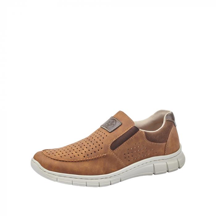 Pantofi casual din piele ecologica barbati B7766-24 0