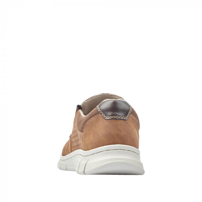 Pantofi casual din piele ecologica barbati B7766-24 3
