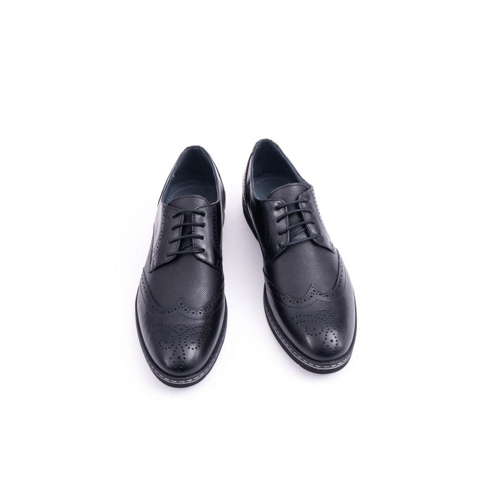 Pantof barbat model Oxford - CataliShoes 181584CR negru 5