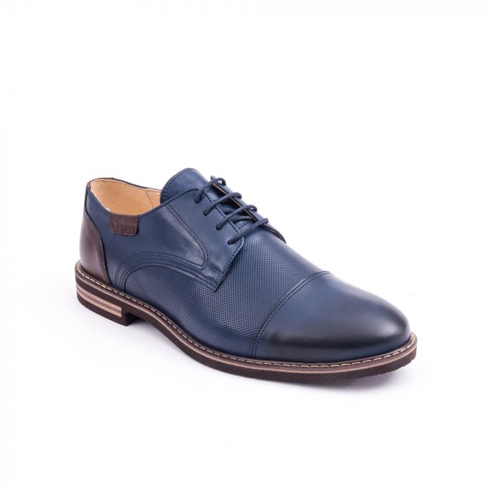 Pantof casual barbat CataliShoes 181594CR bleumarin 0