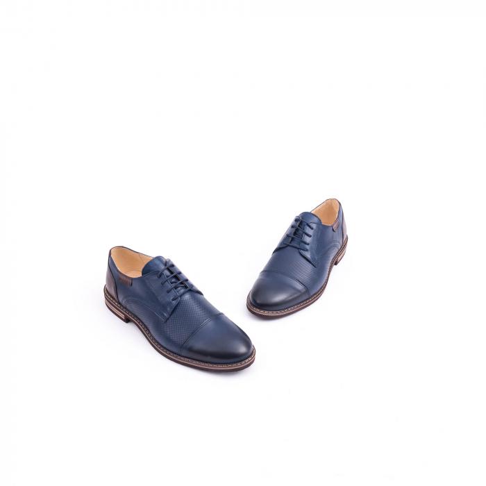 Pantof casual barbat CataliShoes 181594CR bleumarin 1