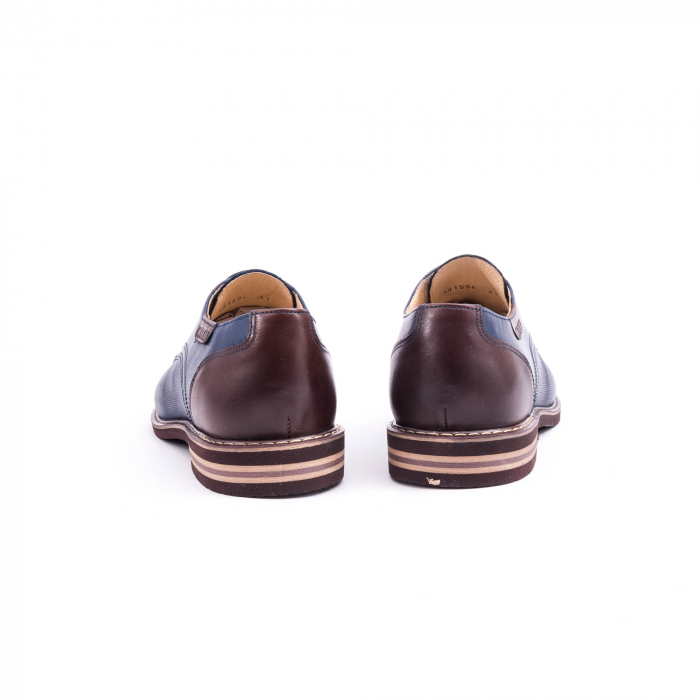 Pantof casual barbat CataliShoes 181594CR bleumarin 6