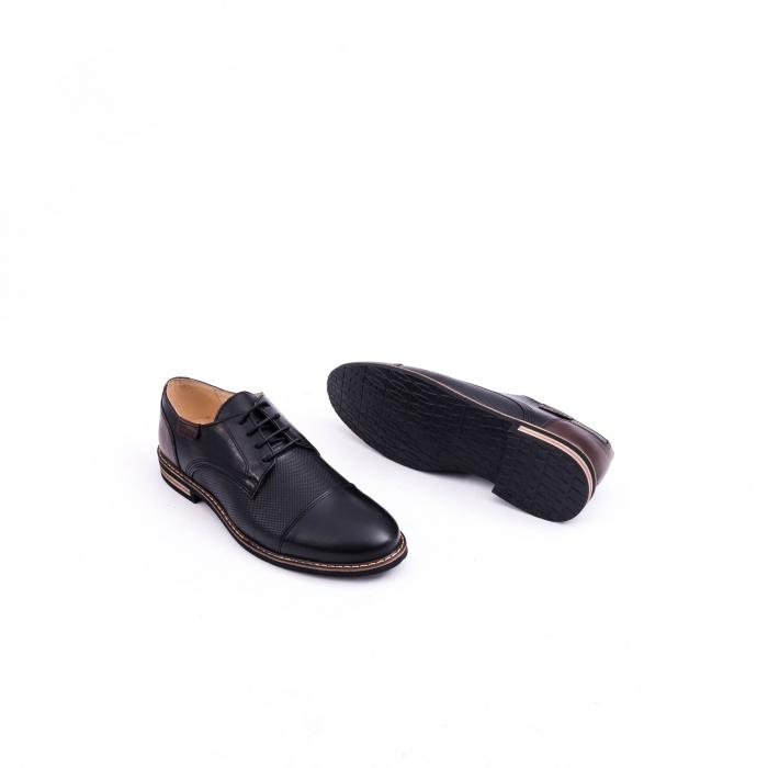 Pantof casual barbat CataliShoes 181594CR negru 3