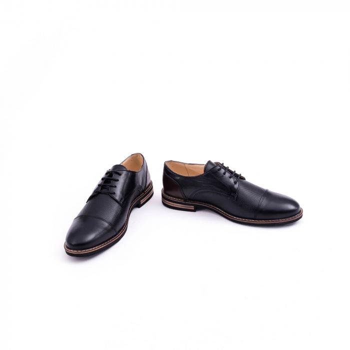 Pantof casual barbat CataliShoes 181594CR negru 4