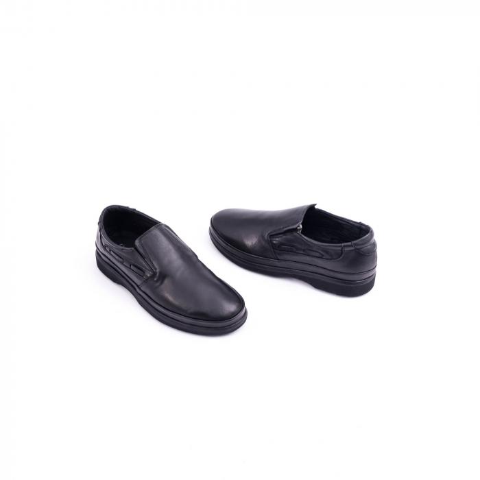 Pantof casual barbat CataliShoes 182507STAR negru 3