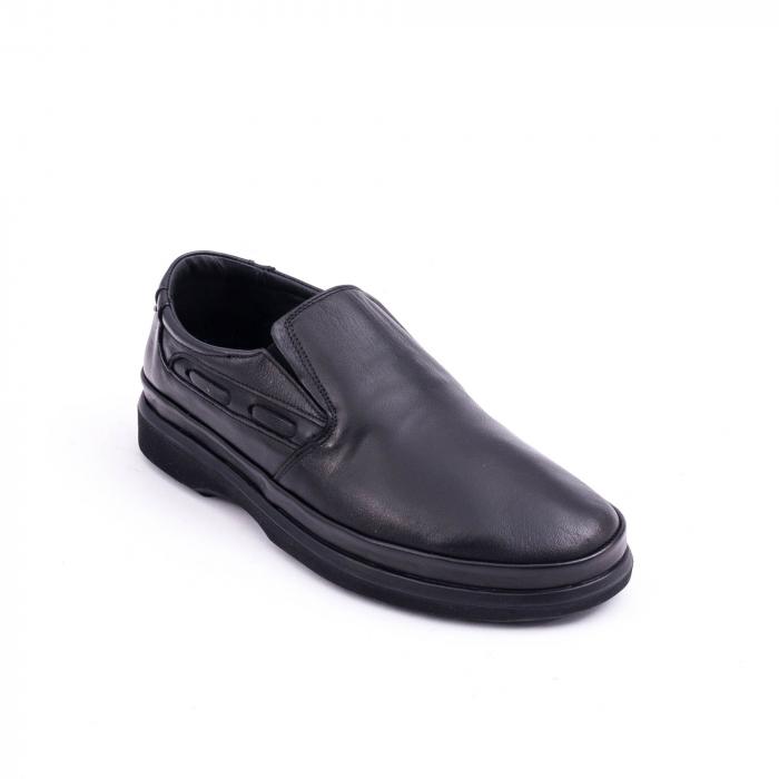 Pantof casual barbat CataliShoes 182507STAR negru 0