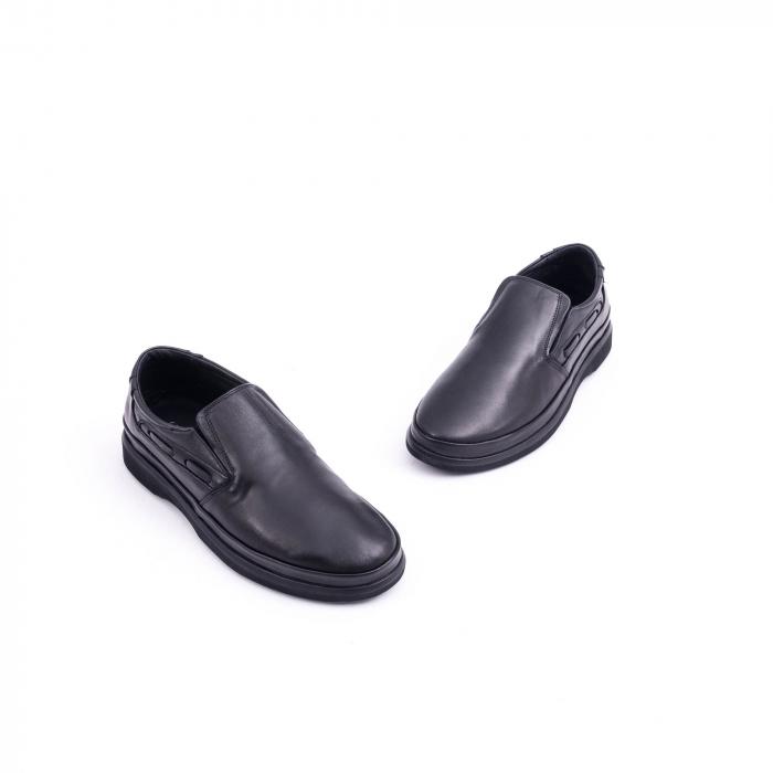 Pantof casual barbat CataliShoes 182507STAR negru 1