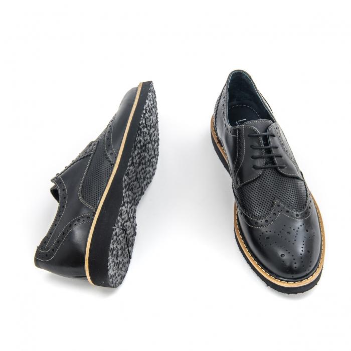Pantof casual barbat LFX 789  negru 2