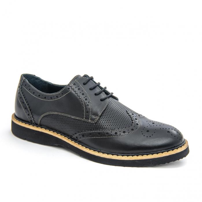 Pantof casual barbat LFX 789  negru 0
