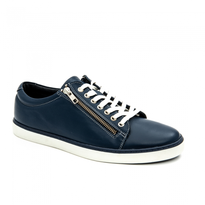 Pantof casual barbat LFX 801 bleumarin 1