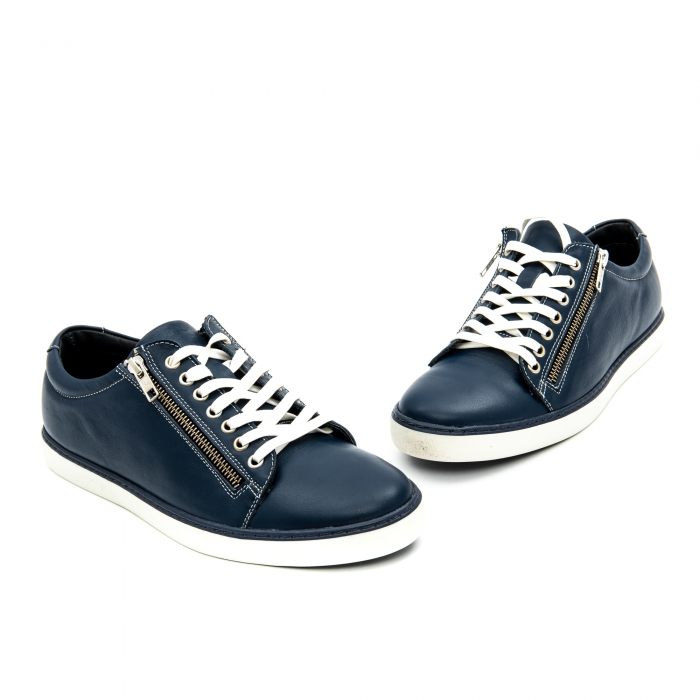 Pantof casual barbat LFX 801 bleumarin 3