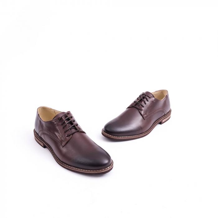 Pantof casual barbat marca CataliShoes 171534CR maro [1]