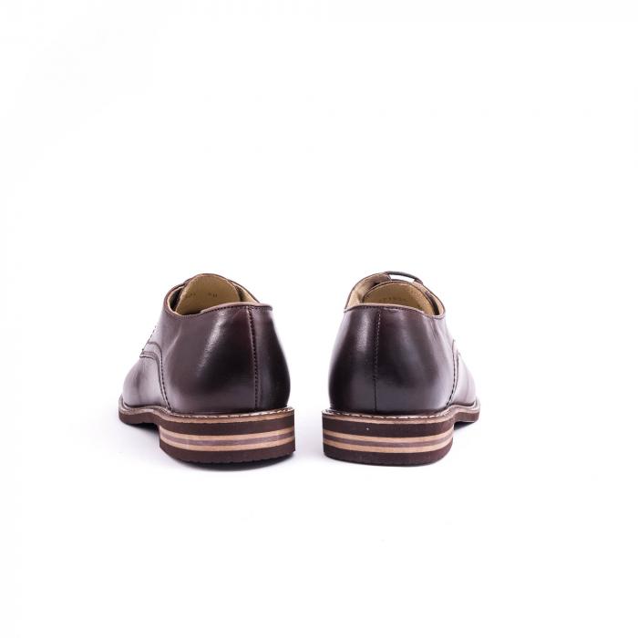 Pantof casual barbat marca CataliShoes 171534CR maro [6]