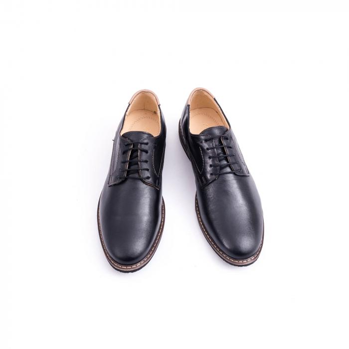 Pantof casual barbat marca CataliShoes 171534CR negru 5