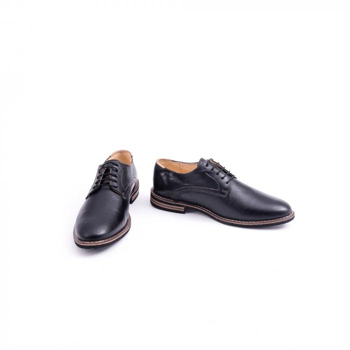 Pantof casual barbat marca CataliShoes 171534CR negru 4