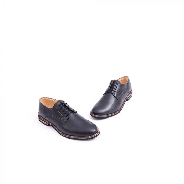Pantof casual barbat marca CataliShoes 171534CR negru 1