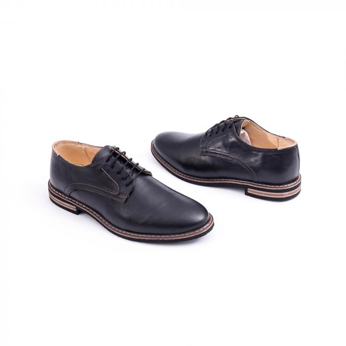 Pantof casual barbat marca CataliShoes 171534CR negru 2