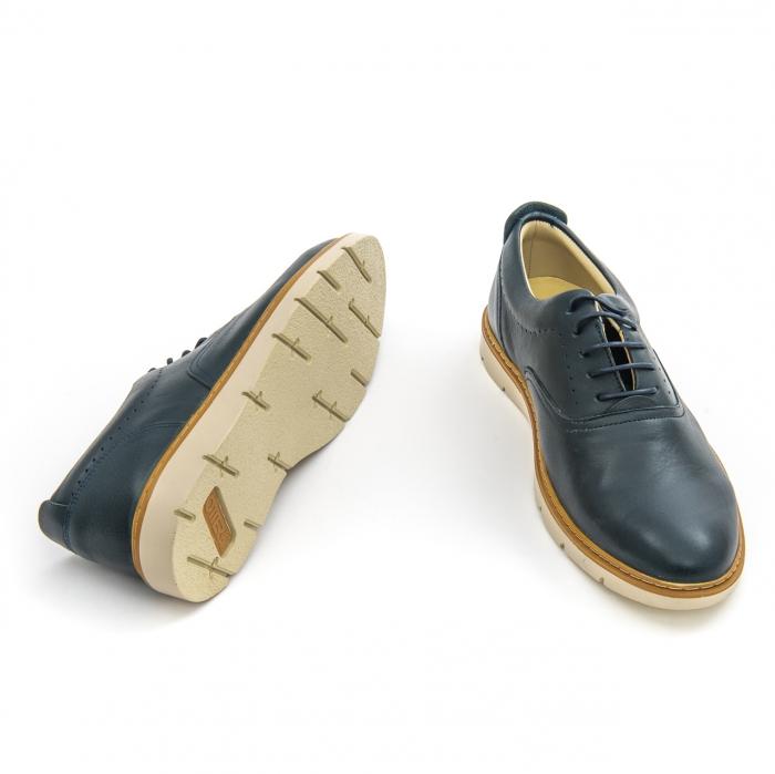 Pantofi casual barbati Otter OT 5915 navy lotus, bleumarin 3