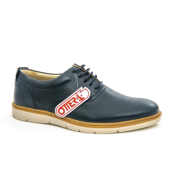 Pantofi casual barbati Otter OT 5915 navy lotus, bleumarin 0
