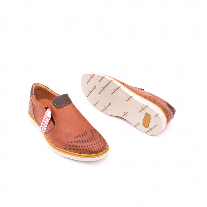 Pantofi casual barbati, piele naturala, OT 5916 coniac [3]