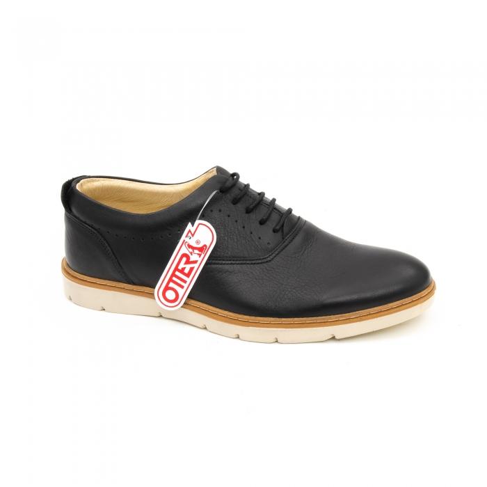 Pantof casual barbat OT 5915 black lotus 0