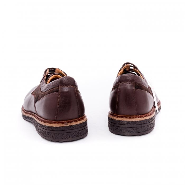 Pantofi barbati casual piele naturala Otter 020 C4 maro 5