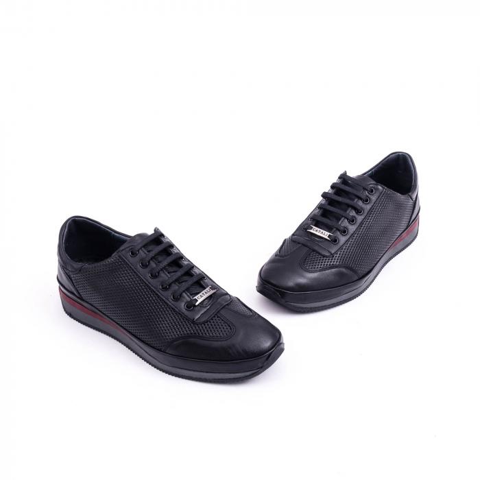 Pantof casual CataliShoes 191535 STAR negru 3