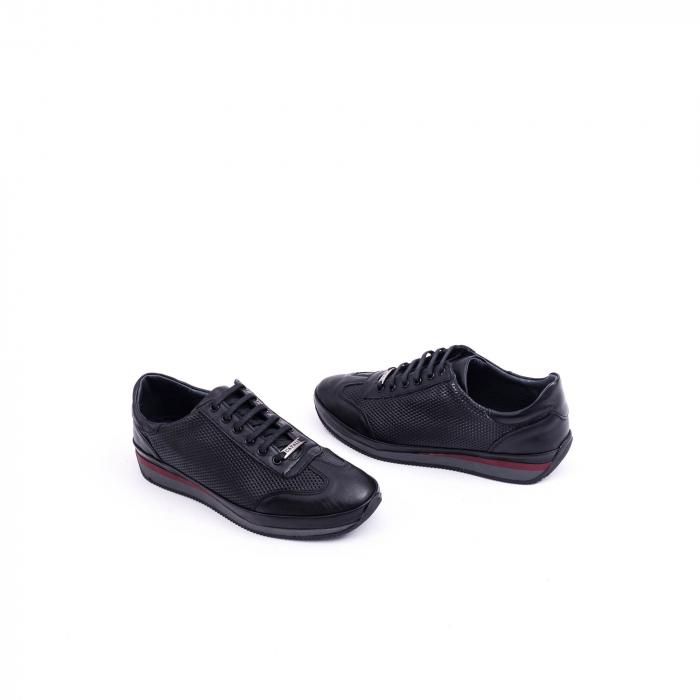 Pantof casual CataliShoes 191535 STAR negru 1